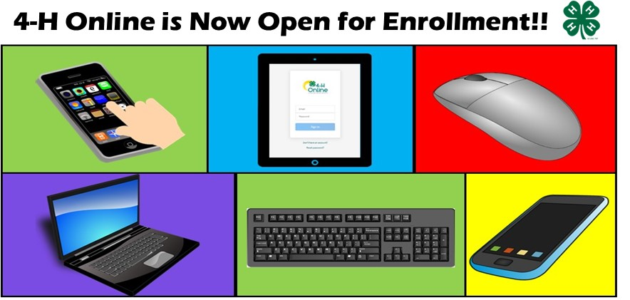 4-H enrollment is now open